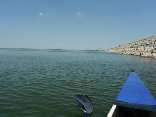 dam on lake lewisville